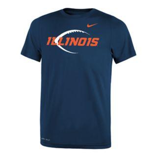 Boys 8-20 Nike Illinois Fighting Illini Legend Icon Tee