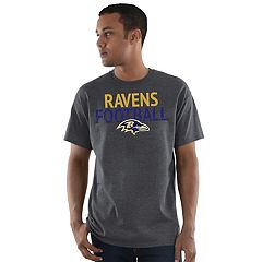 Men's Majestic Baltimore Ravens Safety Blitz Tee