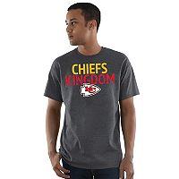 Men's Majestic Kansas City Chiefs Safety Blitz Tee