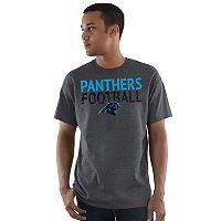 Men's Majestic Carolina Panthers Safety Blitz Tee