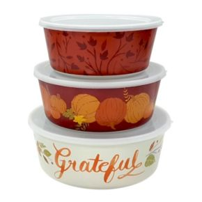 Celebrate Fall Together Melamine Stacking Containers null