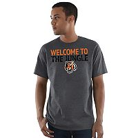 Men's Majestic Cincinnati Bengals Safety Blitz Tee
