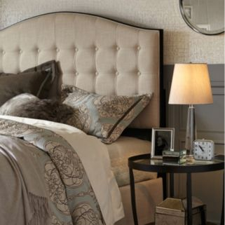 Madison Park Signature Upholstered Queen Bed