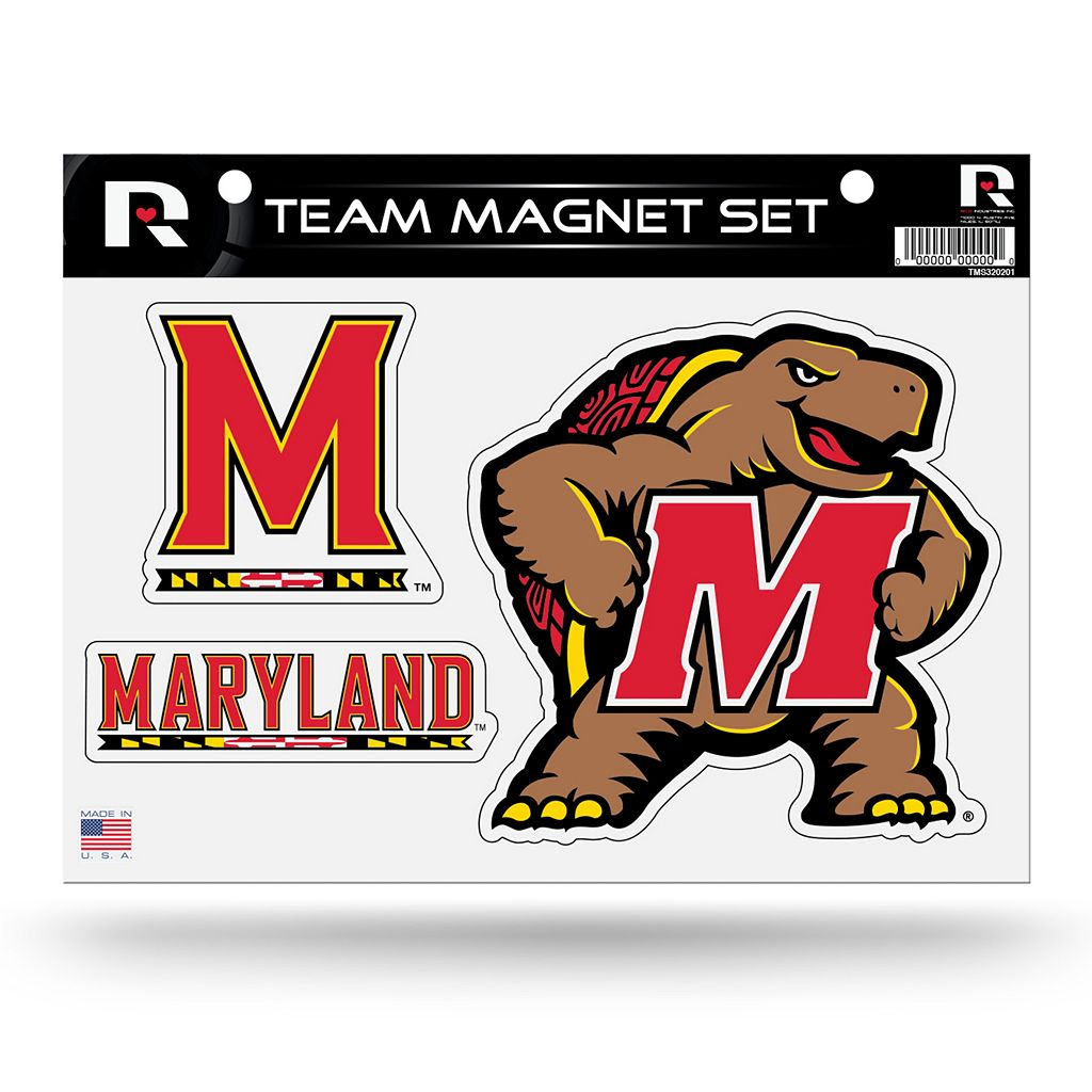 Maryland Terrapins Team Magnet Set