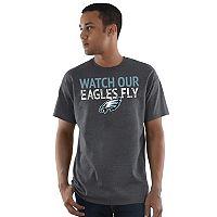 Men's Majestic Philadelphia Eagles Safety Blitz Tee