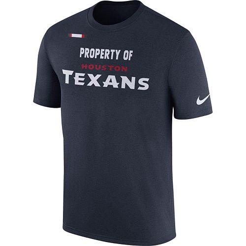 Men's Nike Houston Texans Property Of Tee