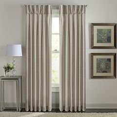 Window Curtainworks 1-Panel Sandy Cancun Inverted Pleat Window Curtain