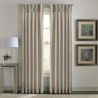 Window Curtainworks 1-Panel Sandy Cancun Inverted Pleat Window Curtain