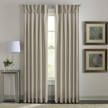 Window Curtainworks Sandy Cancun Inverted Pleat Window Curtain