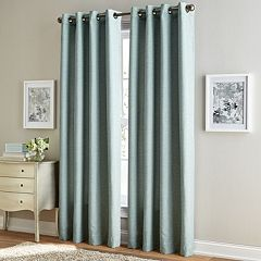 Window Curtainworks Solid Corissa Textured Window Curtain