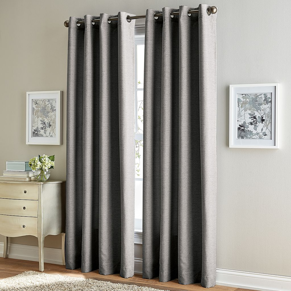 Window Curtainworks Solid Corissa Textured Window Curtain