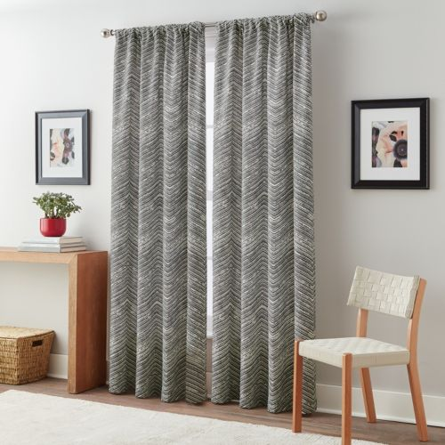 Curtainworks Textured Fossil Curtain