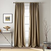 Window Curtainworks Textured Hollister Room Darkening Window Curtain