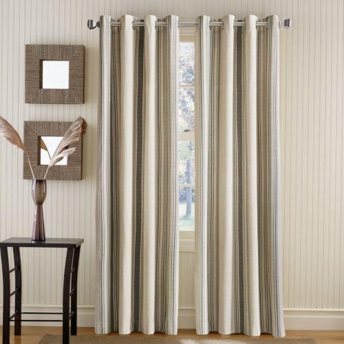 Curtainworks Vertical Veranda Striped Room Darkening Curtain