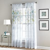 Curtainworks Waterfloral Bloom Sheer Curtain