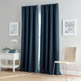 Wilsonville 1-Panel Room Darkening Window Curtain