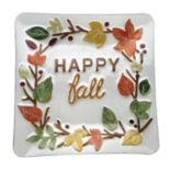 "Celebrate Fall Together ""Happy Fall"" Glass Platter"