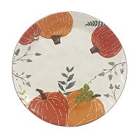 Harvest Pumpkin Dinner Plate