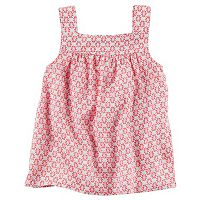 Baby Girl Carter's Print Tank Top