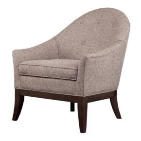 Madison Park Signature Lilly Curved Accent Chair