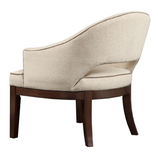 Madison Park Signature Curved Accent Chair