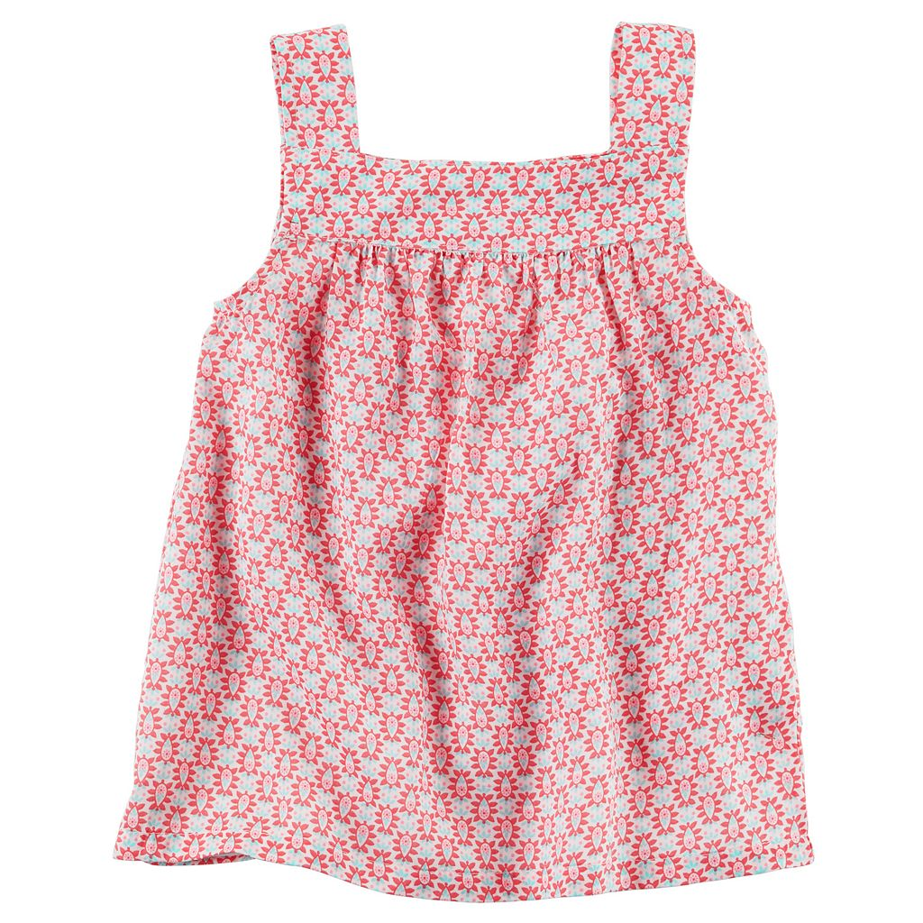 Toddler Girl Carter's Print Tank Top