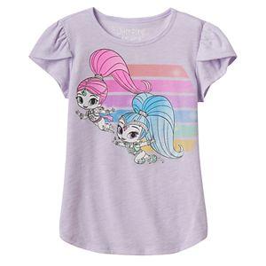 Girls 4-10 Jumping Beans® Shimmer & Shine Rainbow Graphic Tee