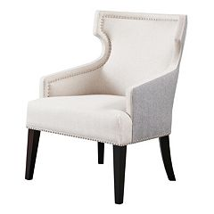 Madison Park Signature Everett Wingback Accent Chair