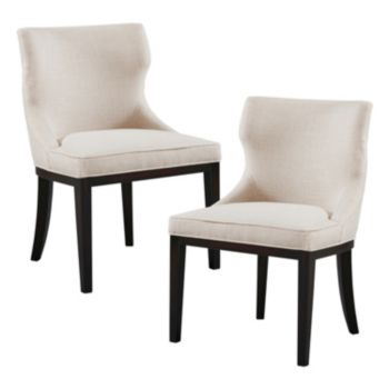 Madison Park Signature Hutton Dining Chair 2-piece Set