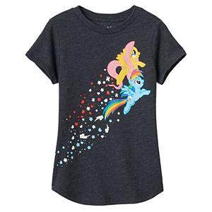 Girls 4-10 Jumping Beans® My Little Pony Rainbow Dash & Applejack Graphic Tee