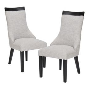 Madison Park Signature Claudet Dining Chair 2-piece Set