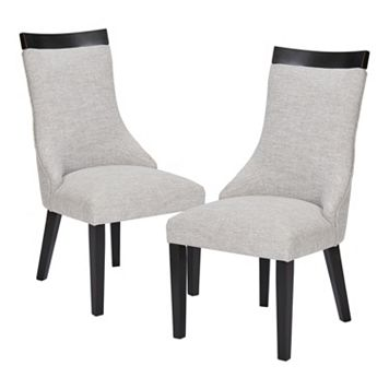 Madison Park Signature Claudet Dining Chair 2-piece Set