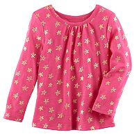 Baby Girl Jumping Beans® Print Swing Top