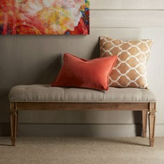 Madison Park Signature Victoria Ottoman Bench