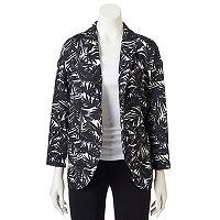 Women's WDNY Black Palm Tree Blazer