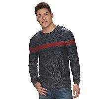 Men's Urban Pipeline® Reverse-Stripe Sweater