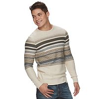 Men's Urban Pipeline® Striped Crew Sweater