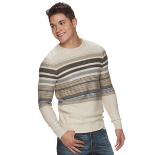 Men's Urban Pipeline® Striped Crew Sweater