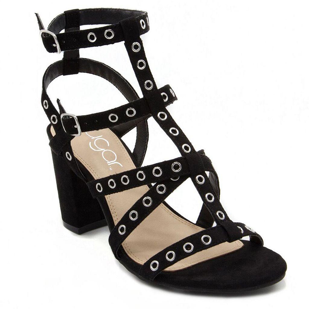 sugar Rock N Roll Women's Block Heel Sandals