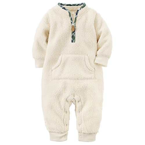 Baby Boy Carter's Sherpa Coverall