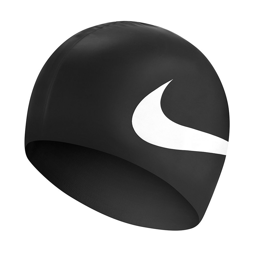Men's Nike Slogan Silicone Swim Cap