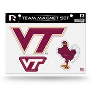 Virginia Tech Hokies Team Magnet Set