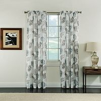 Miller Curtains Audrey Sheer Textured Window Curtain
