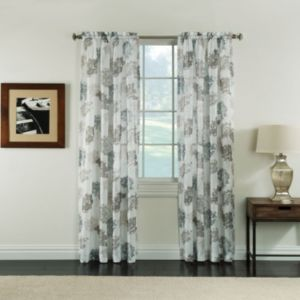 Miller Curtains Audrey Sheer Textured Curtain
