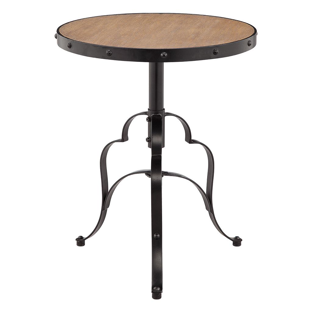 Madison Park Everest Industrial End Table