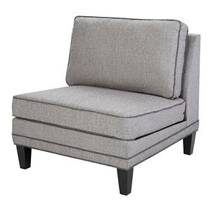 Madison Park Signature Gordon Modular Armless Lounge Chair