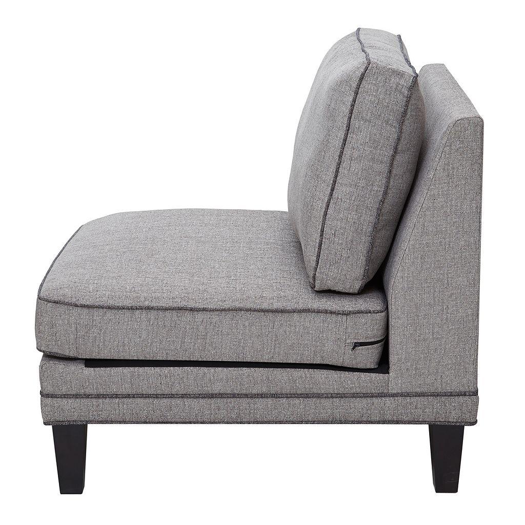 Madison Park Signature Gordon Modular Armless Lounge Chair