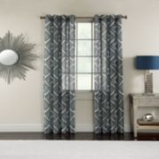 Miller Curtains Campbell Medallion Window Curtain