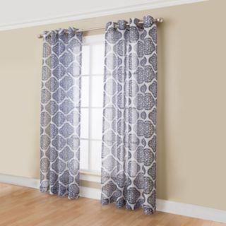 Miller Curtains Campbell Medallion Window Curtain