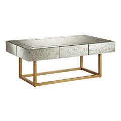 Madison Park Willa Mirrored Coffee Table